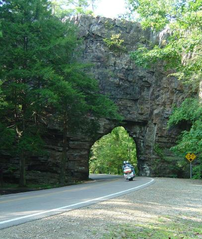 Backbone Rock on TN/NC 133