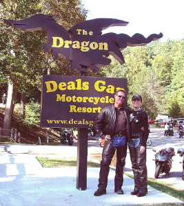 Photo - Smoky Mountain Rider and BMW Girl at the Tail of the Dragon