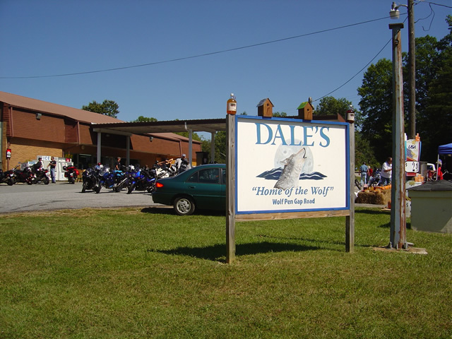 Photo - Dales pit stop in Suches, Georgia
