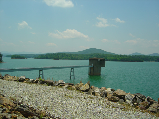 Photo - View from the Nottely Dam