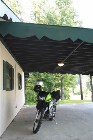 Photo - Covered Parking for your bike
