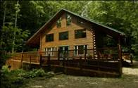 Photo- Iron Mountain Inn B&B Creekside Chalet