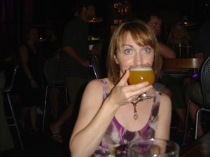 Photo-Jackie-enjoys-a-half-pint