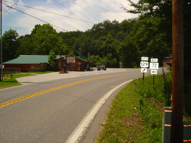 Photo - street view of Punkin Cneter Motorcycle Resort
