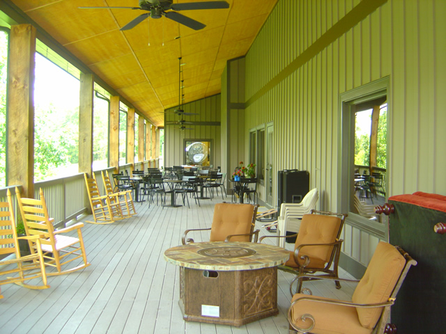 Photo - porch at the Lodge at Copperhead