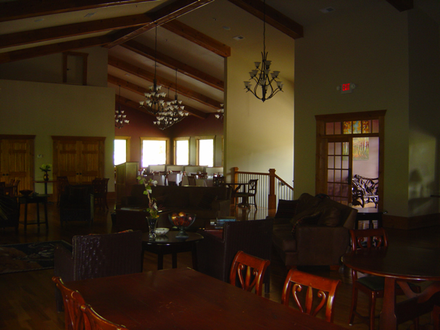 Photo - inside the Lodge at Copperhead