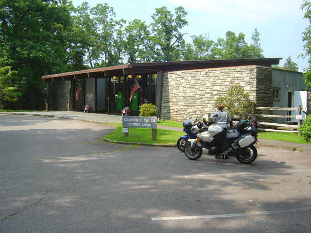 Photo - Visitor Center at Crabtree Falls