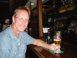 Photo - Me at the pub at the Switzerland Inn