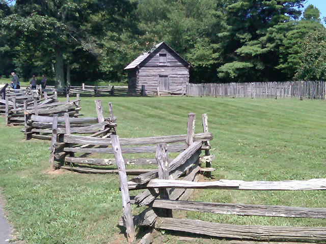 Photo - Historic cabin on the Blue Ridge Parkway