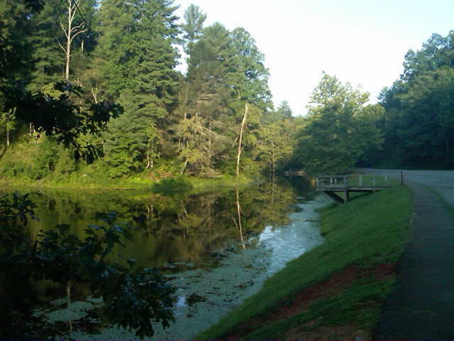 Photo - morning at the lake on Otter Creek