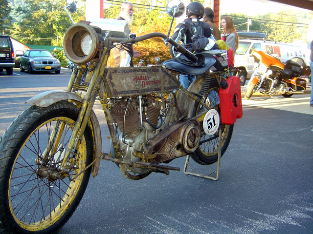 Photo - Cannonball Motorcycle Run