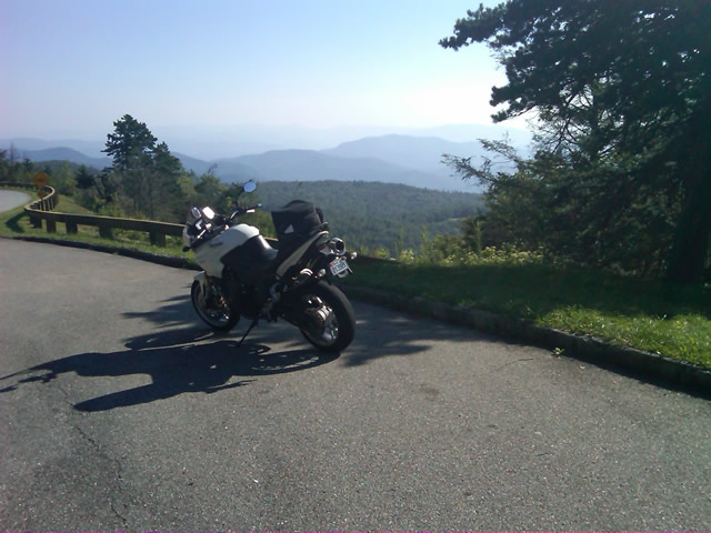 Photo - on the Blue Ridge Parkway