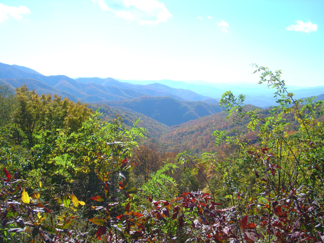 Photo from Thunderstruck Ridge on the Blue Ridge Parkway