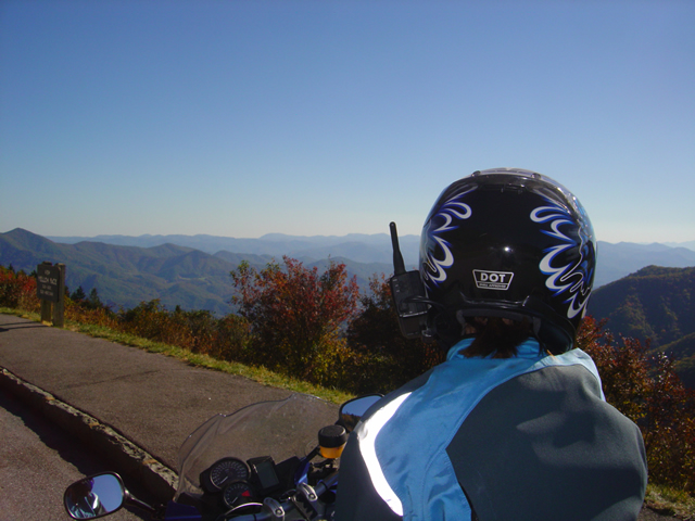 Photo - view from the Blue Ridge Parkway