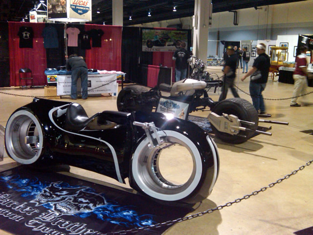 Photo - concept bikes at show