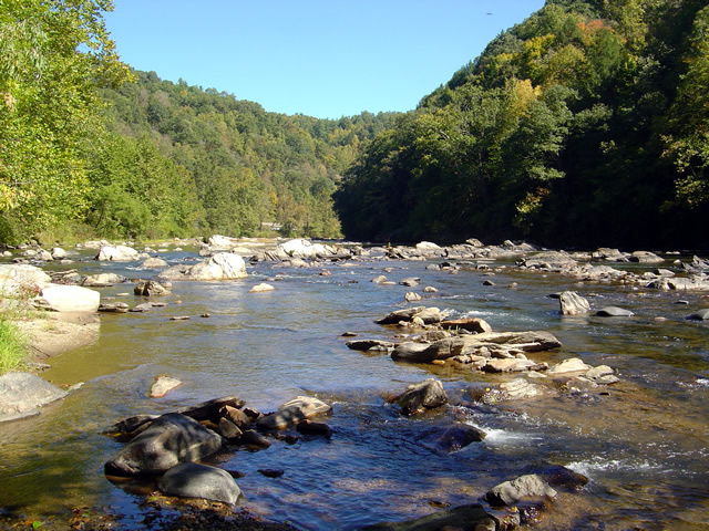 Photo - river north of asheville