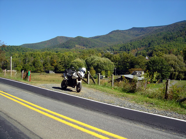 Photo - Stopped near Roan Mountain
