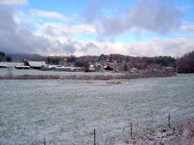 Photo - 1st snow in Waynesville