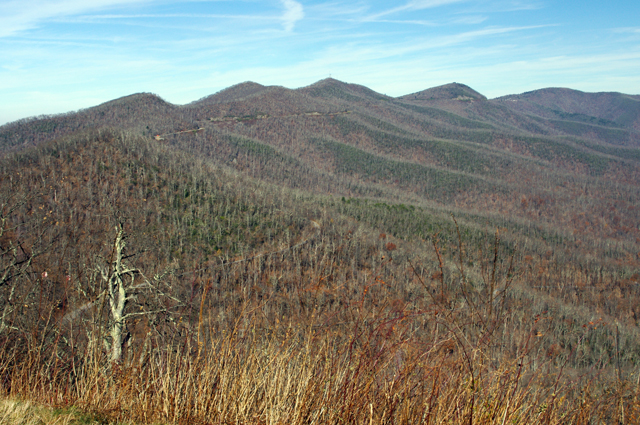 Photo - November view from the Blue Ridge Parkway