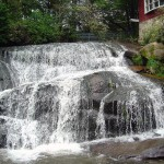 Great Motorcycle Rides in North Carolina - Pisgah Triangles -NC-215-cathedral-falls