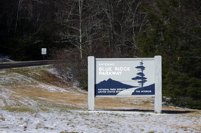 Photo - Parkway entrance at Soco Gap