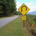 blue-ridge-parkway-spiral-curve-sign