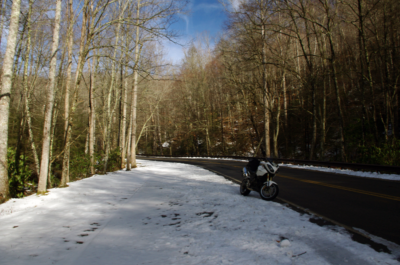 How I Dress for Winter Motorcycle Riding in the Blue Ridge