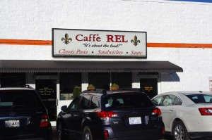 Photo - Caffe Rel sign