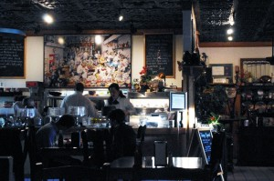 Photo - inside Caffe Rel