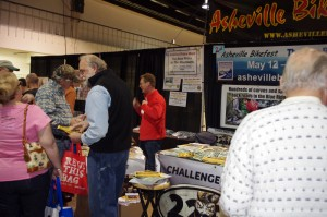 Photo - working the Greenville IMs show