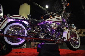 Photo - Bike at Knoxville motorcycle show