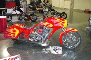 Photo - motorcycle at Knoxville show