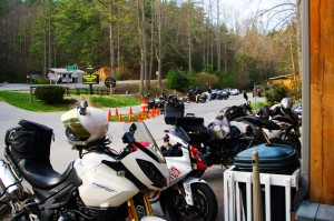 Photo - motorcycles at Delas Gap Motorcycle Resort