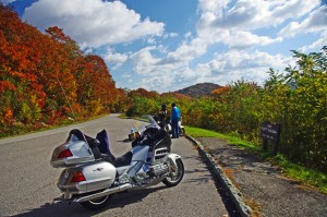 Photo-motorcycles-on-blue-ridge-parkway