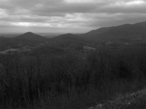 Photo - B&W view from the Foothills Parkway