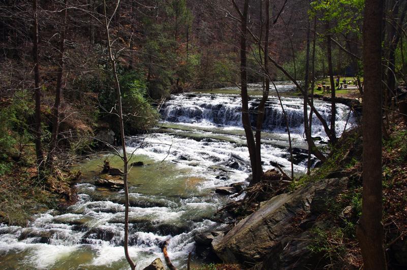 Photo - roadside waterfall near Wears Valley