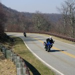 Photo - Motorcycles on the Cherohala Skyway