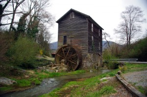 Photo - old mill in Tennessee