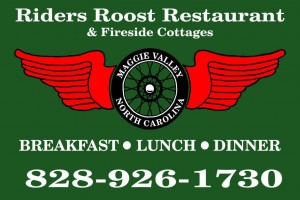 Image - Riders Roost Restaurant sign