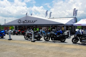 Photo - Star-Yamaha at the Asheville Bikefest
