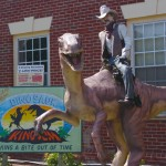 Photo-Cowboy-on-a-dinosaur