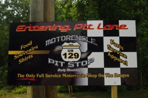 Photo - US 129 Pit Stop sign
