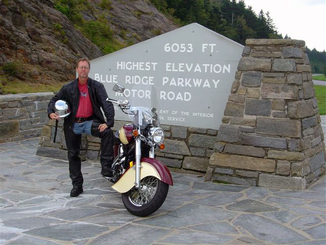 Best Blue Ridge Parkway Overlooks by Motorcycle - highest point