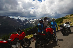 Photo - Riding Trail Ridge Road in Colorado