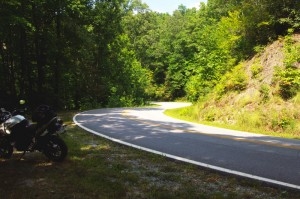Photo-motorcycle-curves-on Sliversteen-Rd-NC