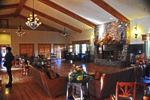 photo- great room at the Lodge at Copperhead