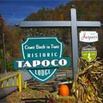 Photo-Tapoco Lodge Sign