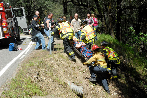 Photo-motorcycle crash