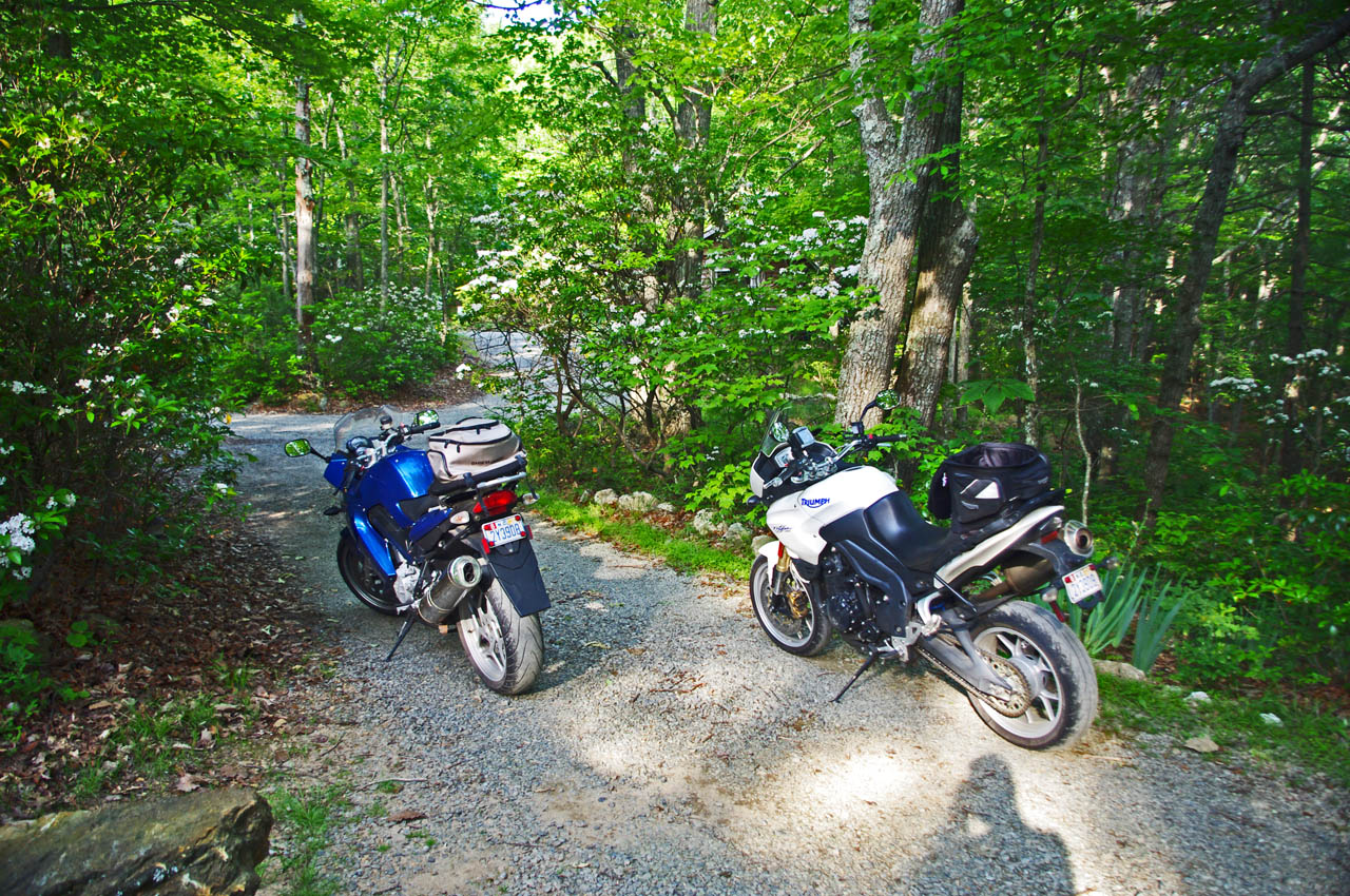 photo-bikes on gravel