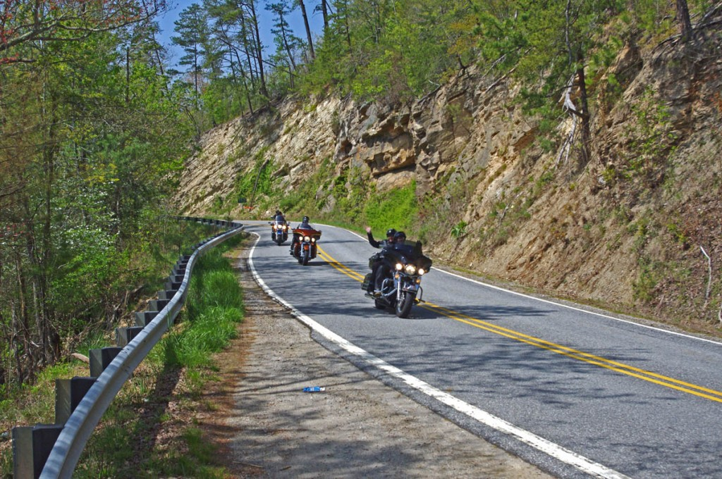 Great Motorcycle Rides in North Carolina - NC 209 The Rattler